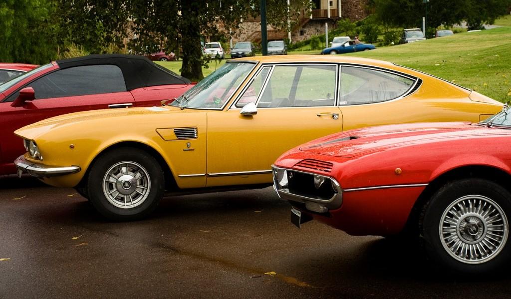 Fiat Dino y Alfa Montreal
