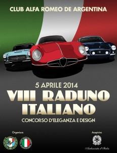 Poster VIII Raduno Italiano