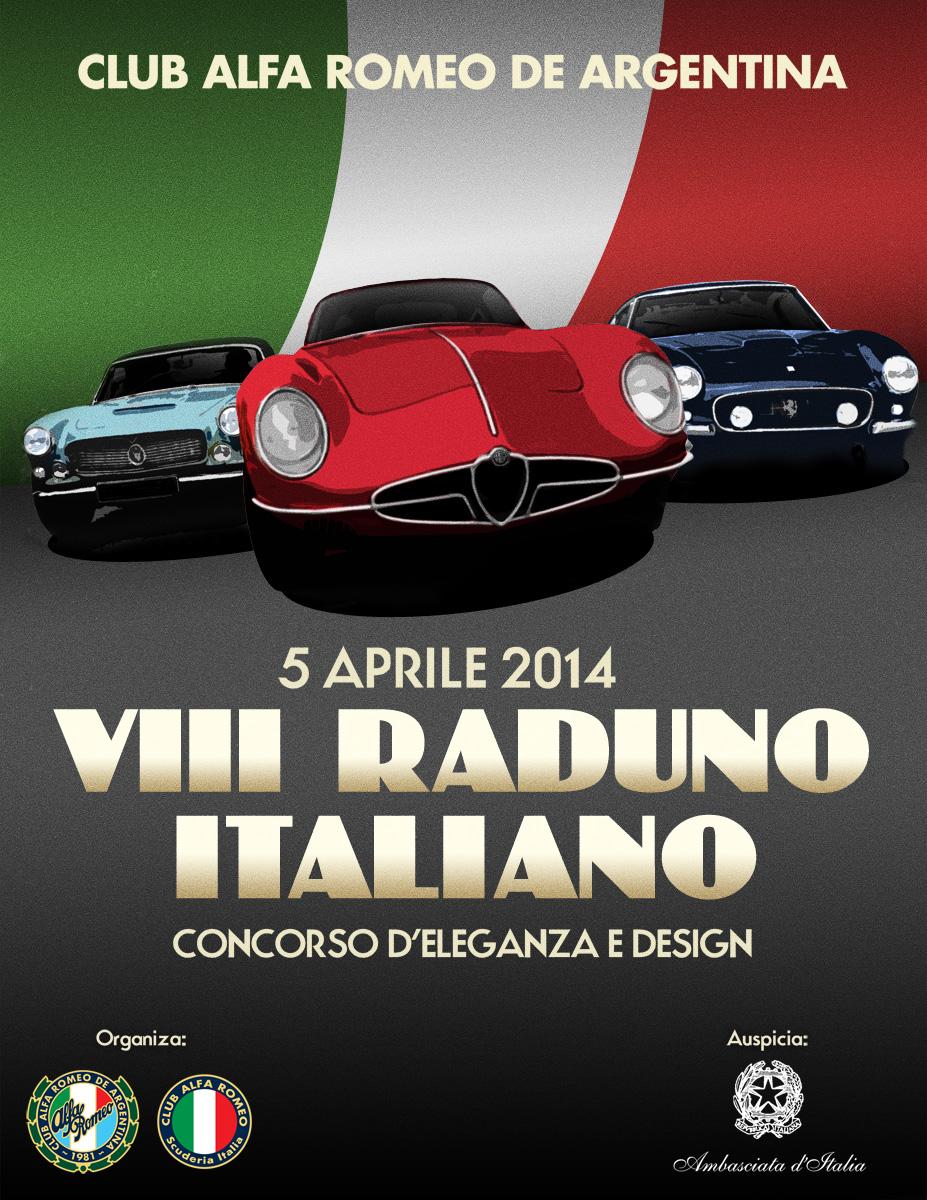 Poster - VIII Raduno Italiano