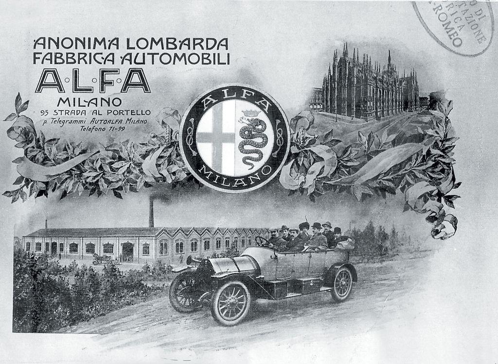 Publicidad - A.L.F.A. 24HP (1910)