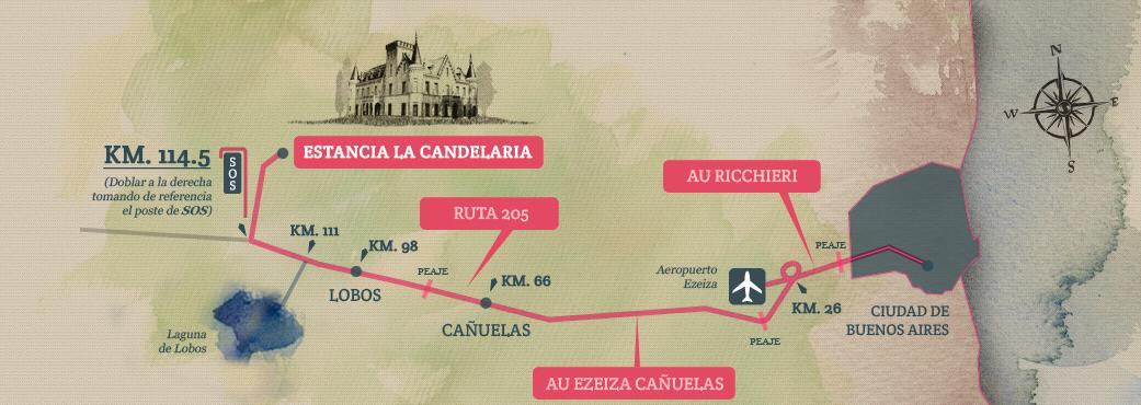 Mapa Candelaria