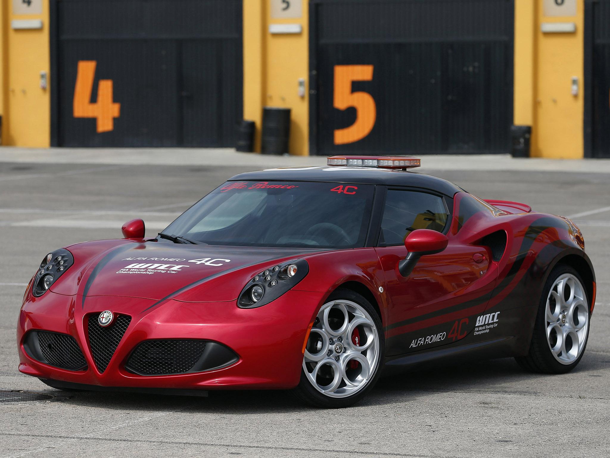 2014-Alfa-Romeo-4C-WTCC-Safety-Car-Wallpapers-pics