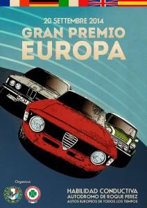 Poster Gran Premio Europa