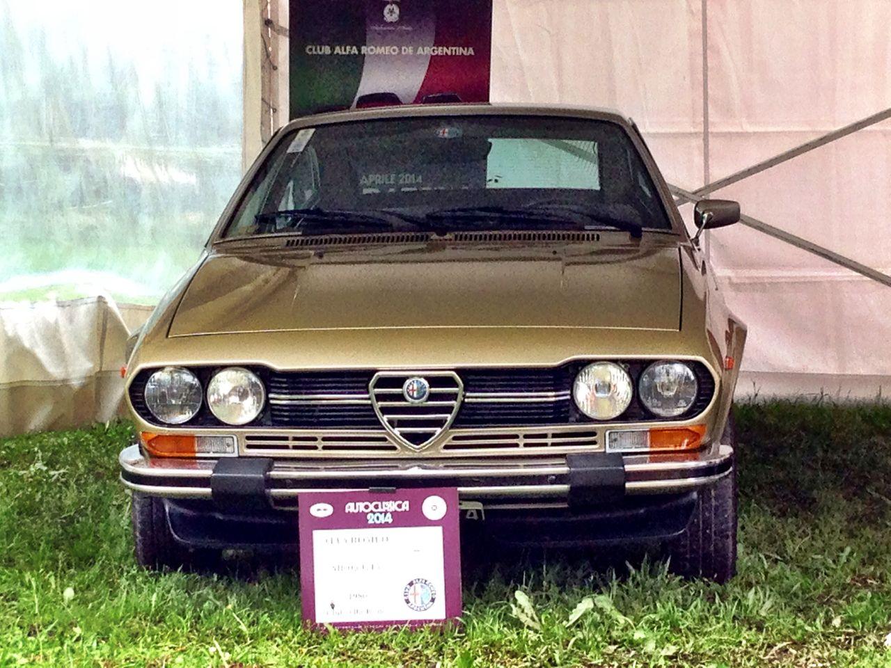 Alfetta GTV 1980 - Juan Ponzio