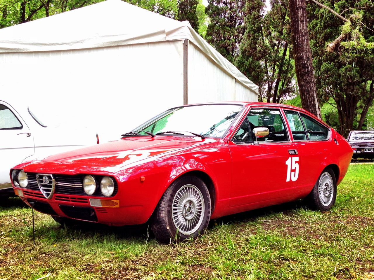 Alfetta GTV 1977 - Jorge Rendo