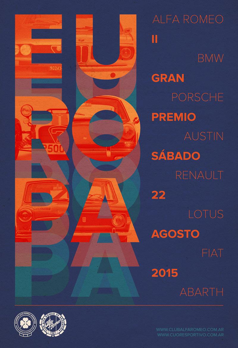 Afiche II Gran Premio Europa
