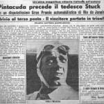 Periodicos Italianos celebran su victoria en Brasil. En la foto, con la 2900 A.